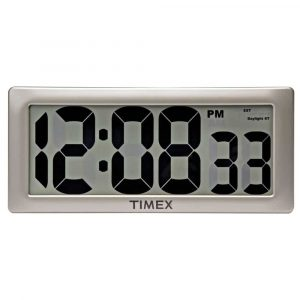 Timex 75071TA2 13.5 inches Large Digital Clock, with 4-Inch Digits
