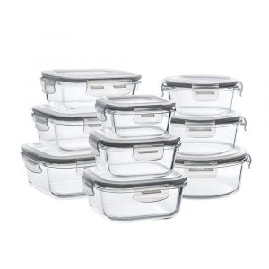 Bayco Glass Storage Containers