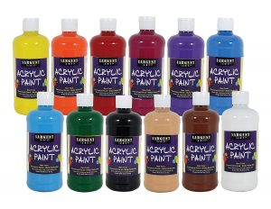 Sargent Art 24-2498, Quality Acrylic Paint Set