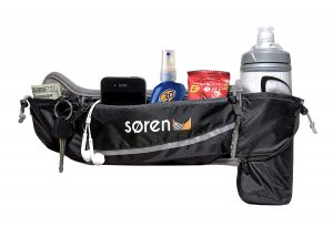 Soren Go Running Belt- 3 Pocket Waist Pack