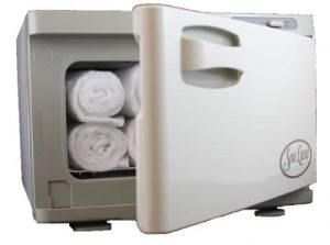 Spa Luxe Hot Towel Cabinet Towel Mini Cab