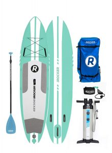 iROCKER Inflatable Stand Up Paddle Board