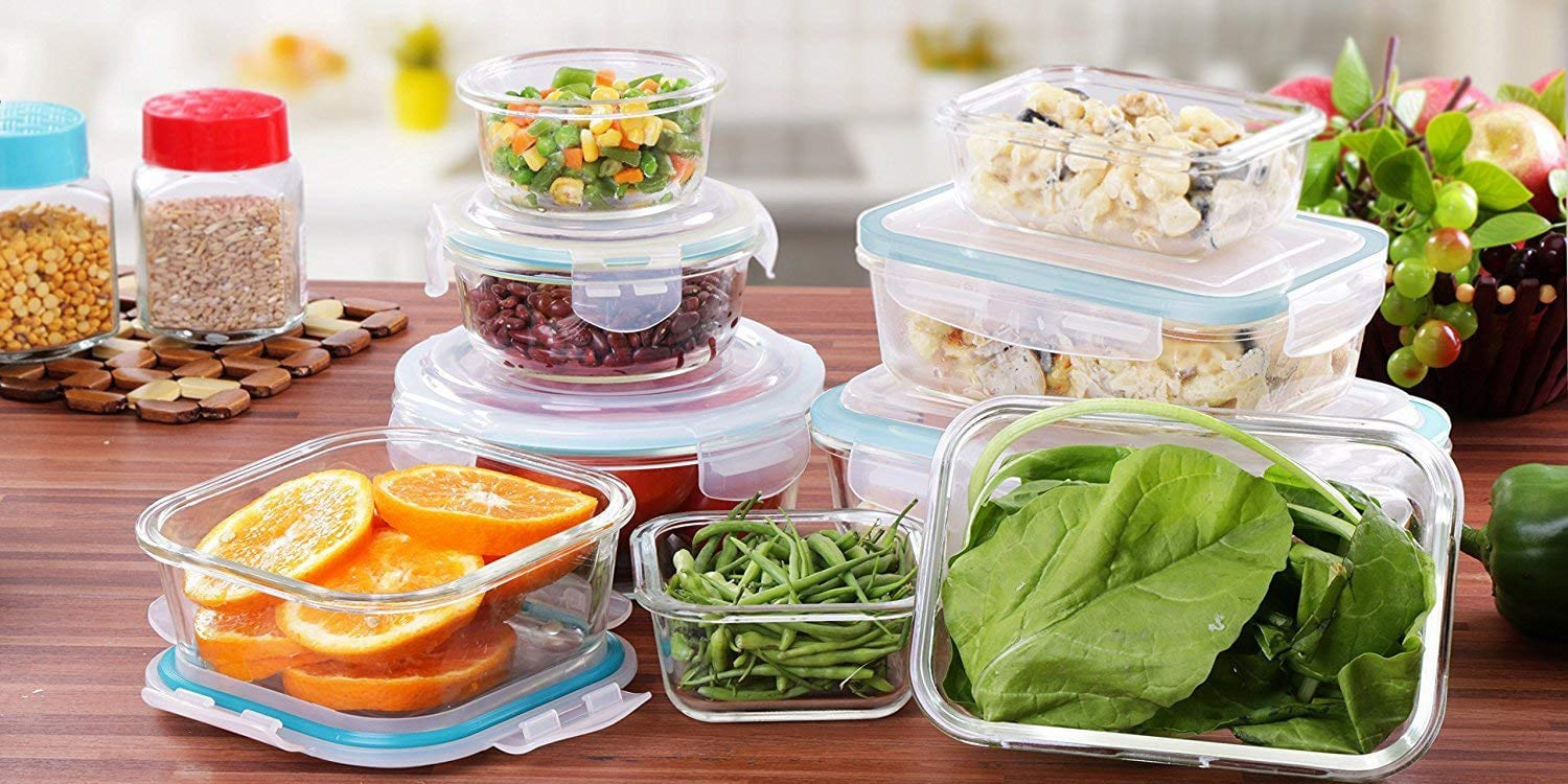 Top 10 Best Glass Food Storage Containers in 2020 - Review ...