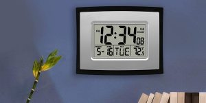 Top 10 Best Digital Wall clocks in 2019 – Reviews