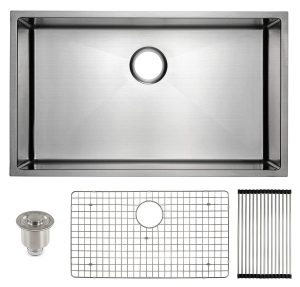 Frigidaire Undermount 16 Gauge Stainless Steel Kitchen Sink