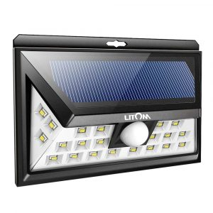 LITOM 24 LED Outdoor Solar Security Lights