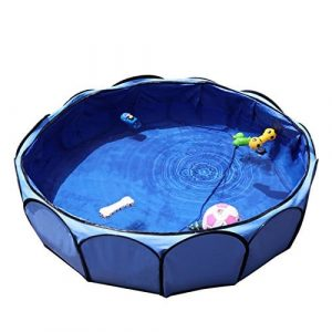 Petsfit 41inches Portable and Foldable Pet Swimming Pool