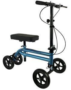 KneeRover - Economy Knee Scooter Walker with DUAL BRAKING SYSTEM