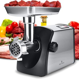 Self-Mate Electric Meat Grinder