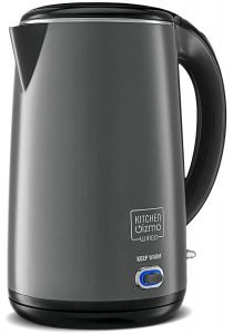 Kitchen Gizmo Stainless Steel Electric Kettle