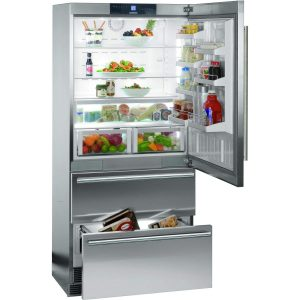 Liebherr CS2060 Gray Counter 19.4 Cu. Ft. Freezer Refrigerator