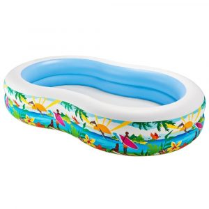Intex Swim Inflatable Pool Center Paradise
