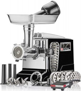 STX INTERNATIONAL- Electric Meat Grinder - Black