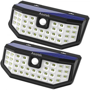The Aootek Upgraded 36 LED Solar Lights