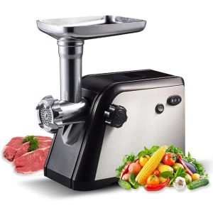Homeleader Electric Meat Grinder with 3 Grinding Plates
