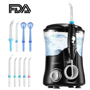 ELLESYE Water Flosser 600ml Capacity FDA Approved Dental Oral Irrigator