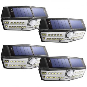 LITOM 30 LED Outdoor Solar Security Lights