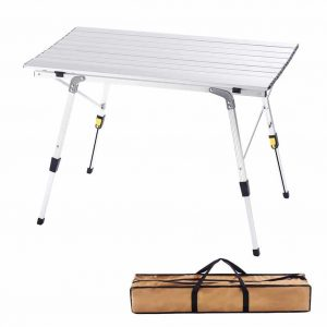 CampLand Aluminum Folding Lightweight Table for Camping