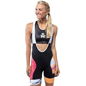 Betty Designs Cycling Bib Shorts Breathable with Moisture-Wicking Fabric