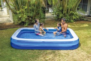 Giant Inflatable Kiddie Pool - 10 Feet Long