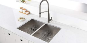 Top 10 Best Double Bowl Kitchen Sinks in 2021 – Reviews