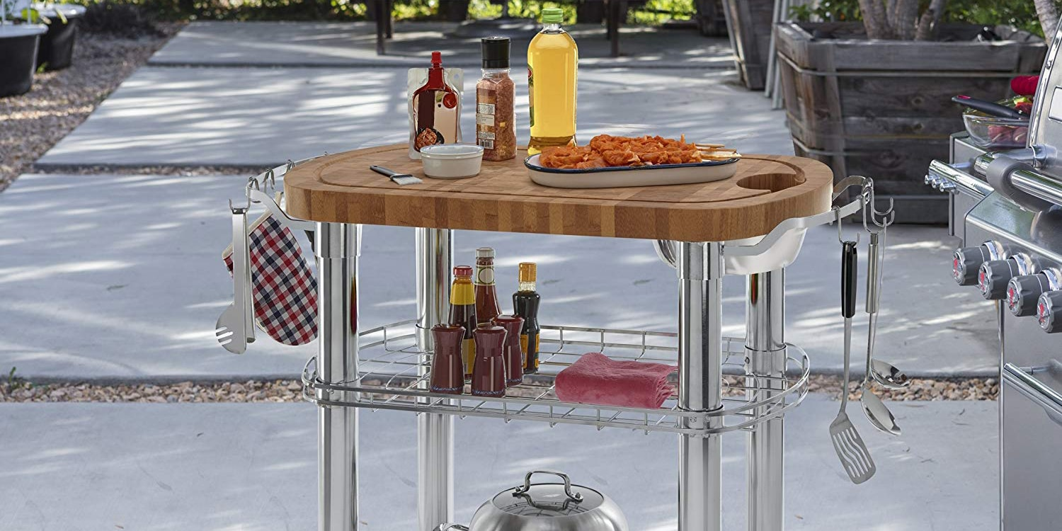 Top 10 Best Rolling Kitchen Carts in 2020 - Reviews - HQReview