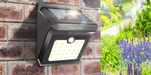 Solar Outdoor Security Lights-www.hqreview.com