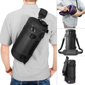 Deluxe Camera Lens Pouch Case by Altura Photo
