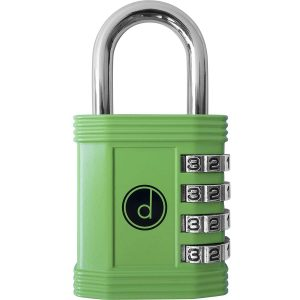 Padlock - 4 Digit Combination Locks Resettable Combo