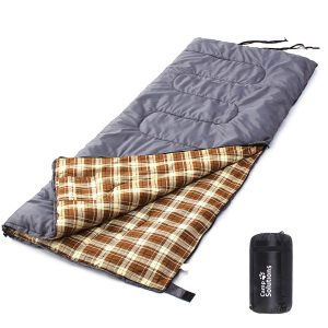 Camp Solutions XL +23F Flannel Lined Sleeping Bag