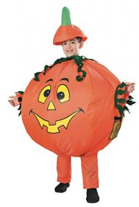 Child Std Inflatable Pumpkin Costume