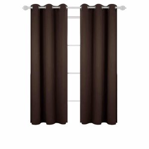 Deconovo Room Darkening Window Curtain for Bedroom