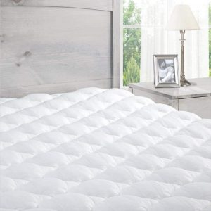 ExceptionalSheets Pillowtop Mattress Pad with Fitted Skirt