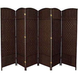 RHF 6 ft. Tall-Extra 6 Panel Wide-Diamond Room Divider