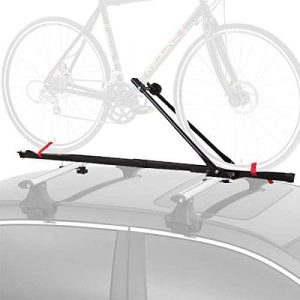 CyclingDeal 1 Bicycle Car Roof Rack with Lock