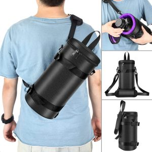 Neewer Deluxe Padded Camera Lens Pouch Case