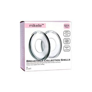 Milkelle Breast milk Saver, Collection Shells