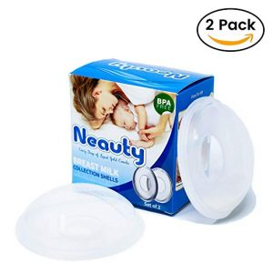 Neauty Breast Shells Reusable Nursing Cups and Milk Savers
