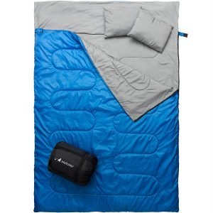 MalloMe Camping Sleeping Bag for Adults and Kids