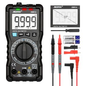 Digital Multimeter DC- AC Voltage Current TRMS 9999 Counts Meter