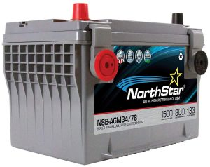 NORTHSTAR Pure Lead Automotive Group 34:78 Car Battery NSB-AGM34:78