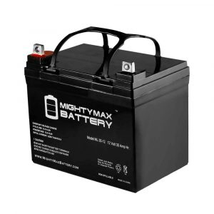 Mighty Max Battery ML35-12 - 12V 35AH U1 Deep Cycle AGM Solar Battery