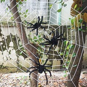 JOYIN 3 Realistic Looking Halloween Spider Web Giant Props