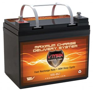 VMAXTANKS VMAX V35-857 12 Volt 35AH AGM Battery Marine Deep Cycle HI Performance Battery