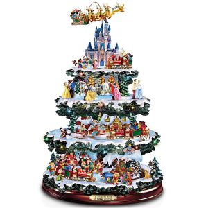 Bradford Exchange The Wonderful World Of Disney Tabletop Ceramic Tree