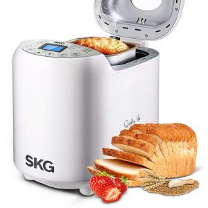 SKG Automatic 3 Loaf Sizes Bread Machine 2LB