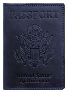 Carlo Molizeri RFID Blocking US Passport Holder Cover