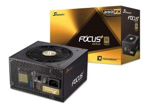 Seasonic Focus plus SSR-650FX 650 Gold Power Supply