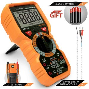 GoLIFEuP- Multimeter Voltage rms 6000 Tester Digital NCV AC DC Measurement