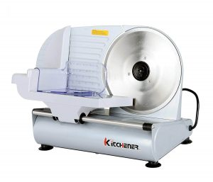 Kitchener Professional 9-inch Deli Cheese Electric Meat Food Slicer